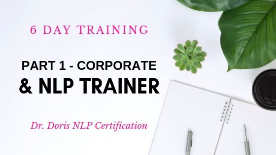 Corporate Trainer & NLP Trainer Part 1