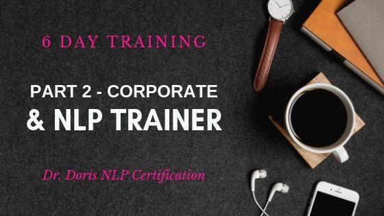 Corporate Trainer & NLP Trainer Part 2